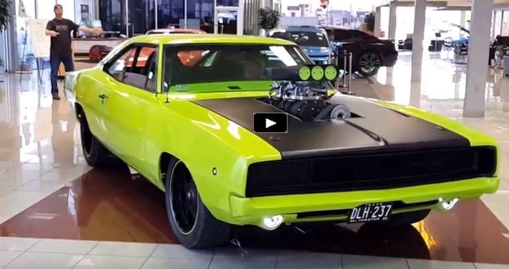 950hp Blown 1968 Dodge HEMI Charger | Video