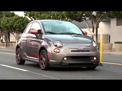 So cool driving this car 2014 Fiat 500e