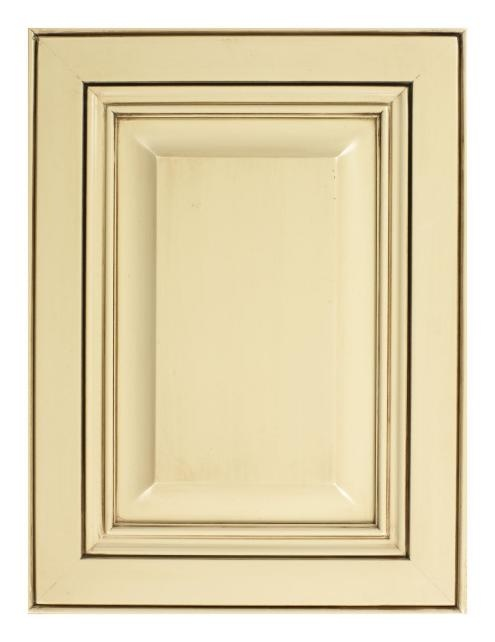 Ivory Cabinet With Chocolate Glaze Kitchen Pinterest