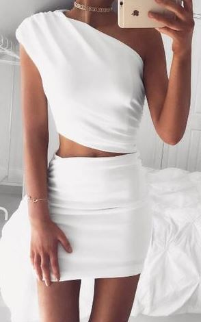 Grecia White Two-Piece Set 1