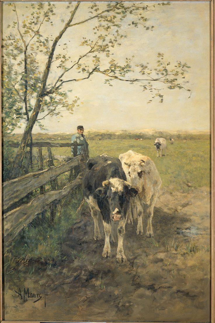 De melkbocht       Mauve, Anton    Verv.jaar: 1888
