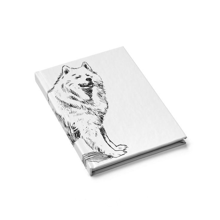 Retro Samoyed Journal - Blank