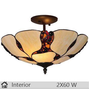 Plafoniera iluminat decorativ interior Klausen, gama Camelot, model PL2
