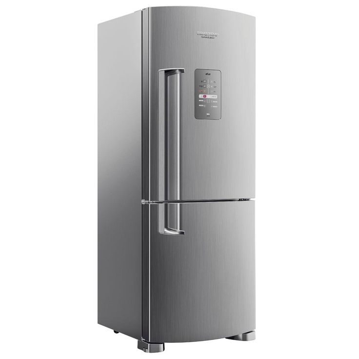Refrigerador Brastemp Ative! Inverse BRE50NK Evox 422L - Platinum - Frost Free $ 2.500
