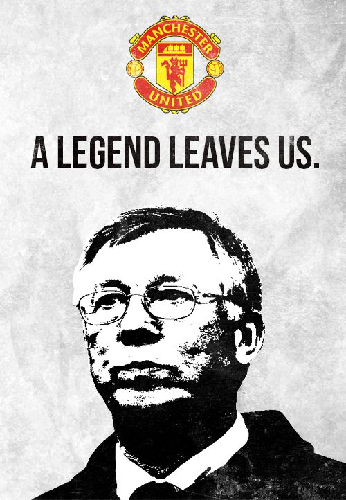 Sir Alex Ferguson. Manchester United #mufc