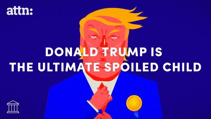 Bill Maher Animated Narration of Donald Trump