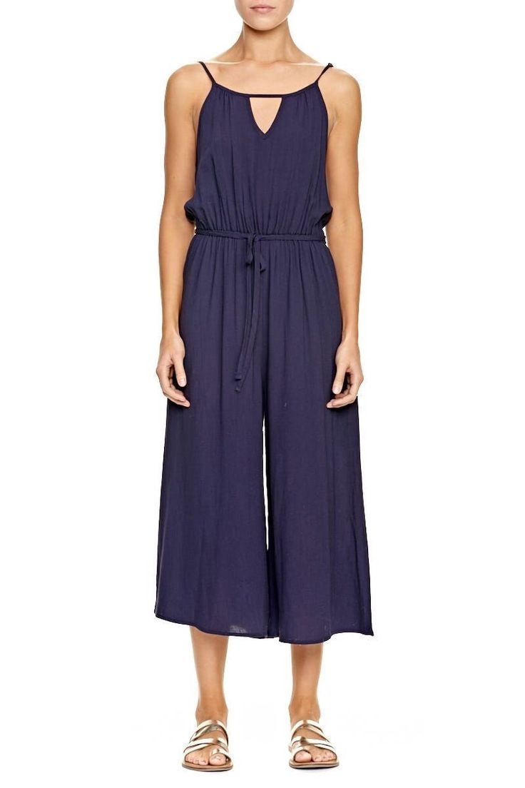 ELWOOD CLOTHING - Arla Jumpsuit Navy