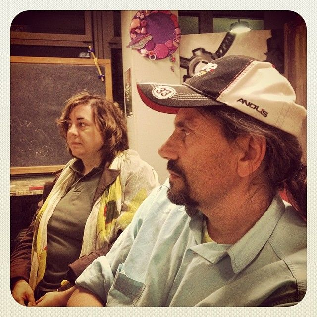 http://instagram.com/p/oeS4rYqqPF/ Maurizio e Francesca! Arsra.