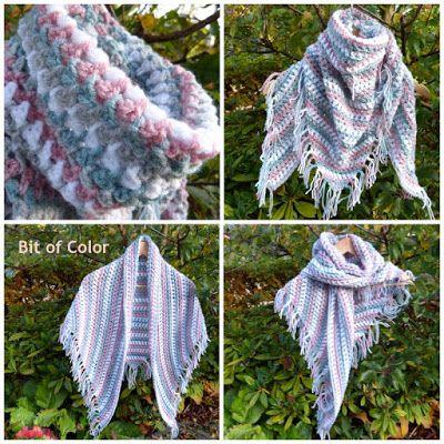 Bit of Color: Lichte sjaal-omslagdoek