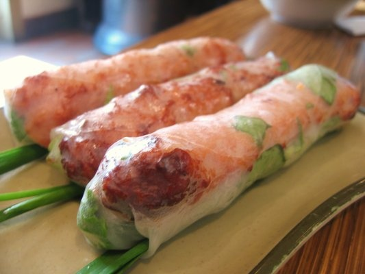 Brodard Restaurant Garden Grove, Ca  The BEST Pork Spring Rolls (Nem Nuong Cuon) on the continent