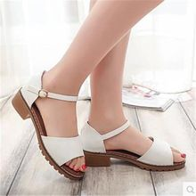 2016 summer new fish head sandals Korean version of casual female student flat with flat sandals open-toed shoes(China (Mainland))