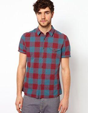 ASOS Shirt With Buffalo Check $45.30