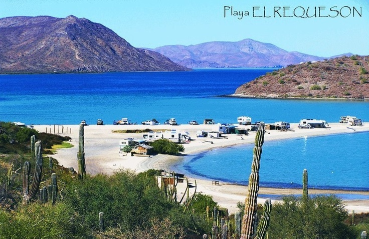 Playa El Requeson, Bahia Concepcion, Baja California Sur. Picture from https://www.facebook.com/raulverdugovillarino