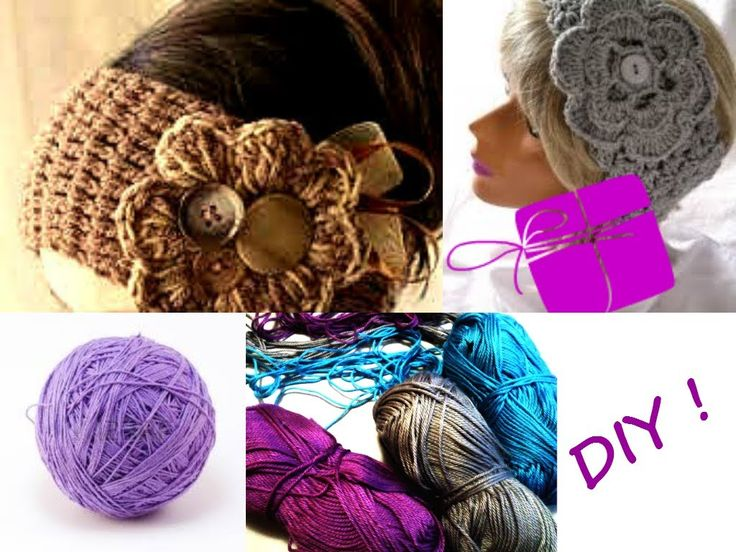 HEADBAND, FASHION, STYLE,  CROCHET + DIY ♥