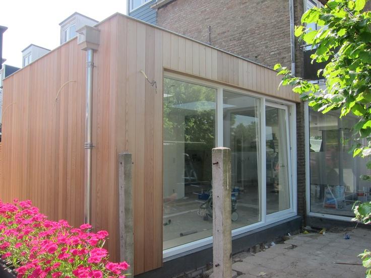 25 beste idee n over zijkant veranda op pinterest betonnen loopbrug kleine veranda 39 s en - Moderne buitentuin ...
