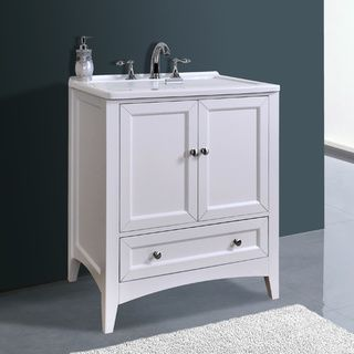 Sink And Washer All In One : Manhattan White 30.50-inch All-in-One Laundry Vanity Sink Overstock ...
