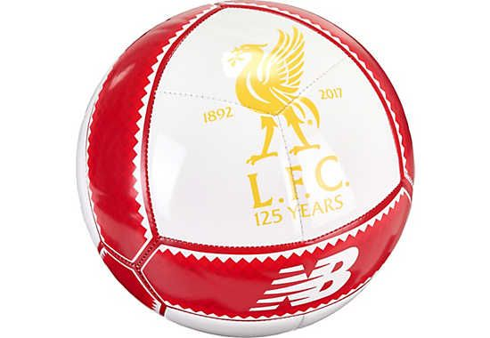 44c8d69fc New Balance Liverpool Dispatch Soccer Ball - White   Red Pepper ...