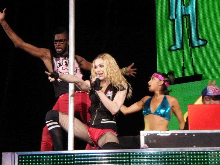 Madonna Sticky & Sweet Tour Brazil 2008