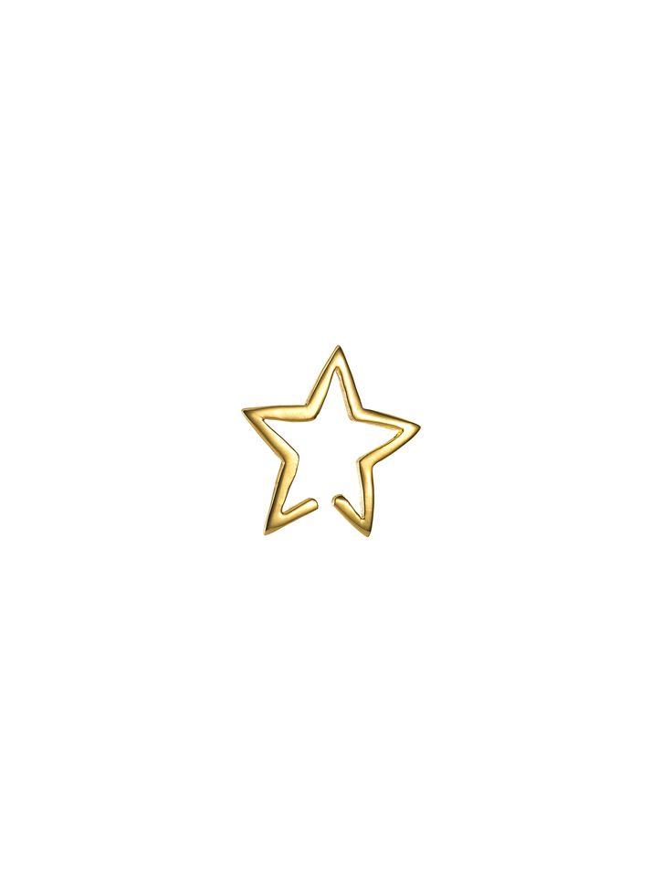 Star Cuff Gold