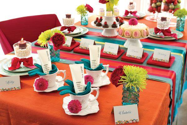 Convida suas madrinhas pra um Chá especial antes do casamento, todas precisam relaxar e de quebra presenteie com Mary Kay pra elas ficarem ainda mais bonita!
