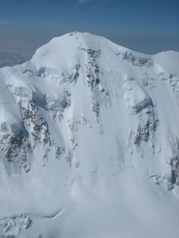 Lyskamm North Face (detail)
