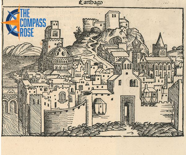City Highlights Part One African City Views From The Nuremberg Chronicle Uta Libraries Nuremberg City View Renaissance Artists