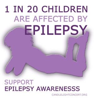 Candlelight Concert for Epilepsy Awareness -Novemeber is Epilepsy awareness month support us epileptics by wearing purple!