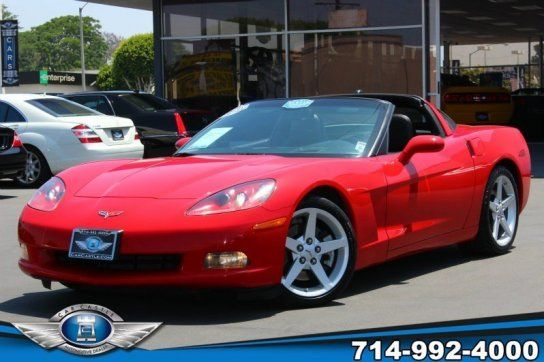 Coupe, 2005 Chevrolet Corvette Coupe with 2 Door in Fullerton, CA (92832)