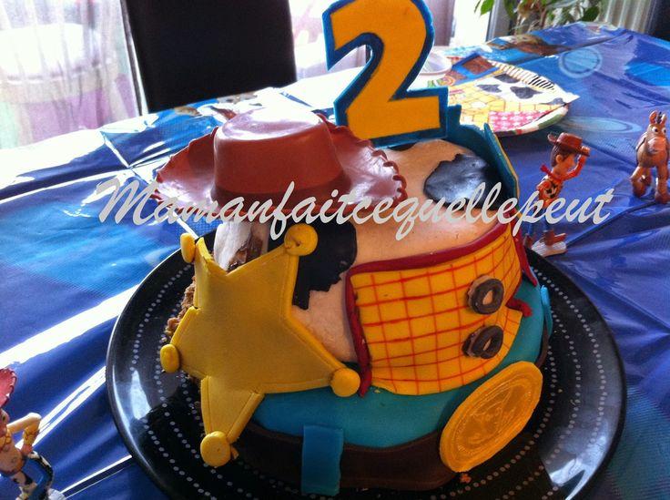mamanfaitcequellepeut gâteau toys story 2 3