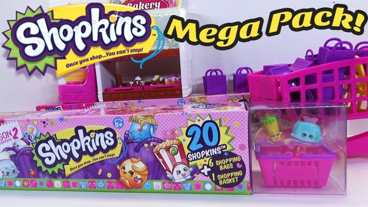 www.youtube.com/user/disneytoybox?sub_confirmation=1  DisneyToyBox presents a Shopkins Season 2 MEGA PACK Opening 20 Pack with 4 ULTRA RARES Toy Review. We have been getting a TON of requests to open more of these Season 2 Shopkins Mega Packs, so here is another one!  In this Shopkins Mega Pack Toy Review, we get lucky again and get a lot of Rare Shopkins, but we also get 4 ULTRA RARE SHOPKINS! #Shopkins