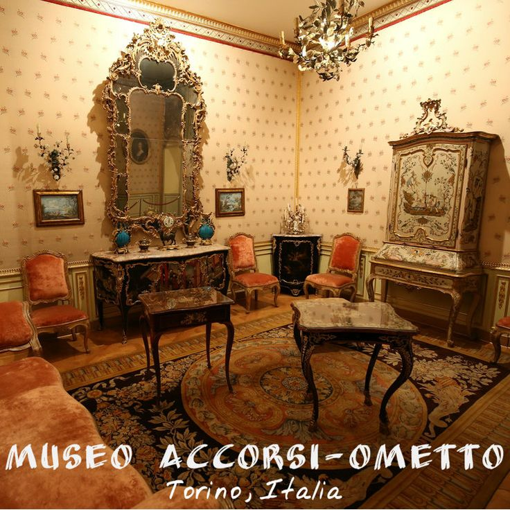#MuseoAccorsi #Torino The Decoratives Arts #Museum originated from the rich legacy left by Pietro Accorsi and was opened by Giulio Ometto, President for life of the Museum.  The 27 rooms of the museum house thousands of objects, mainly 18th-century: in the first rooms are on exhibit Baccarat crystals mounted on golden bronze bases; Meissen porcellain, Piedmont silverware and a rich collection of snuff boxes. The kitchen houses an extraordinary collection of antique copper utensils.