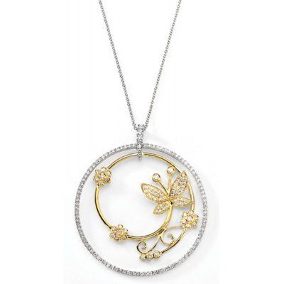 #Awaidy #Diamond #Pendant Made in Real Diamond and 1 kt yellow & white gold.Customize as per your Style and budget.Get Exact Diamond Quality and weight.
