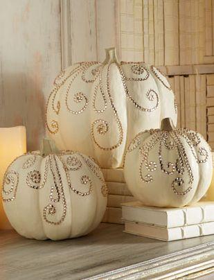 Jeweled pumpkins