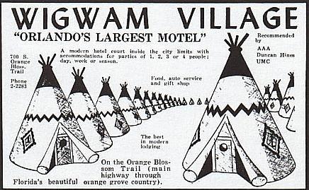 wigwam motel orlando fl | wigwam village orlando brochure - Orlando Weekly Photo…