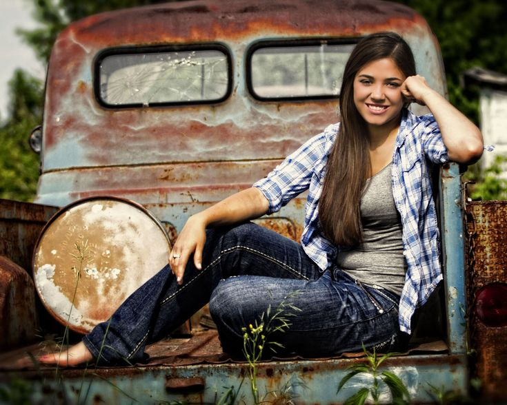 Country, outdoor photography, senior pictures, high school, old truck, wisconsin,                                                                                                                                                     More