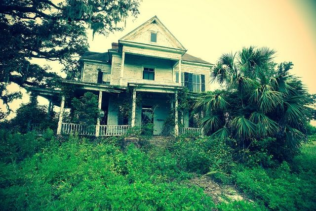 Abandoned Plantation Homes for Sale | Old Abandoned Plantation Home | A Little TLC Needed