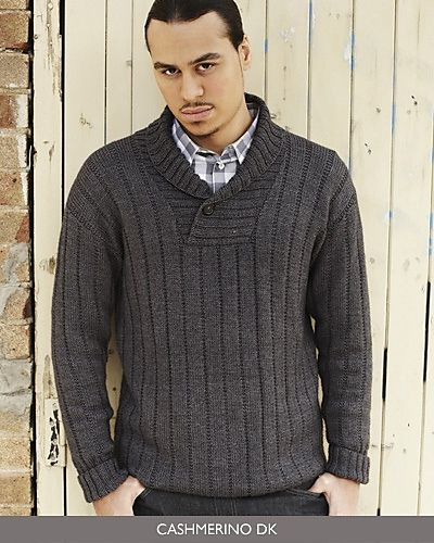 Knitting Pattern For Mens Sweater With Collar : 17 Best ideas about Shawl Collar Sweater on Pinterest ...