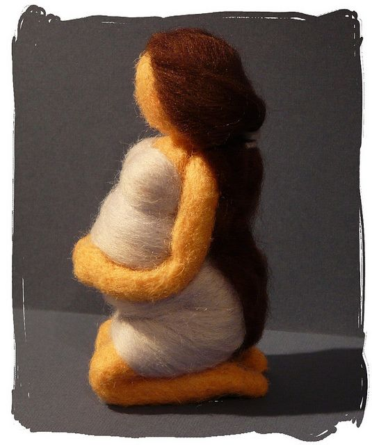 Pregnant doll =) by Zanya750, via Flickr