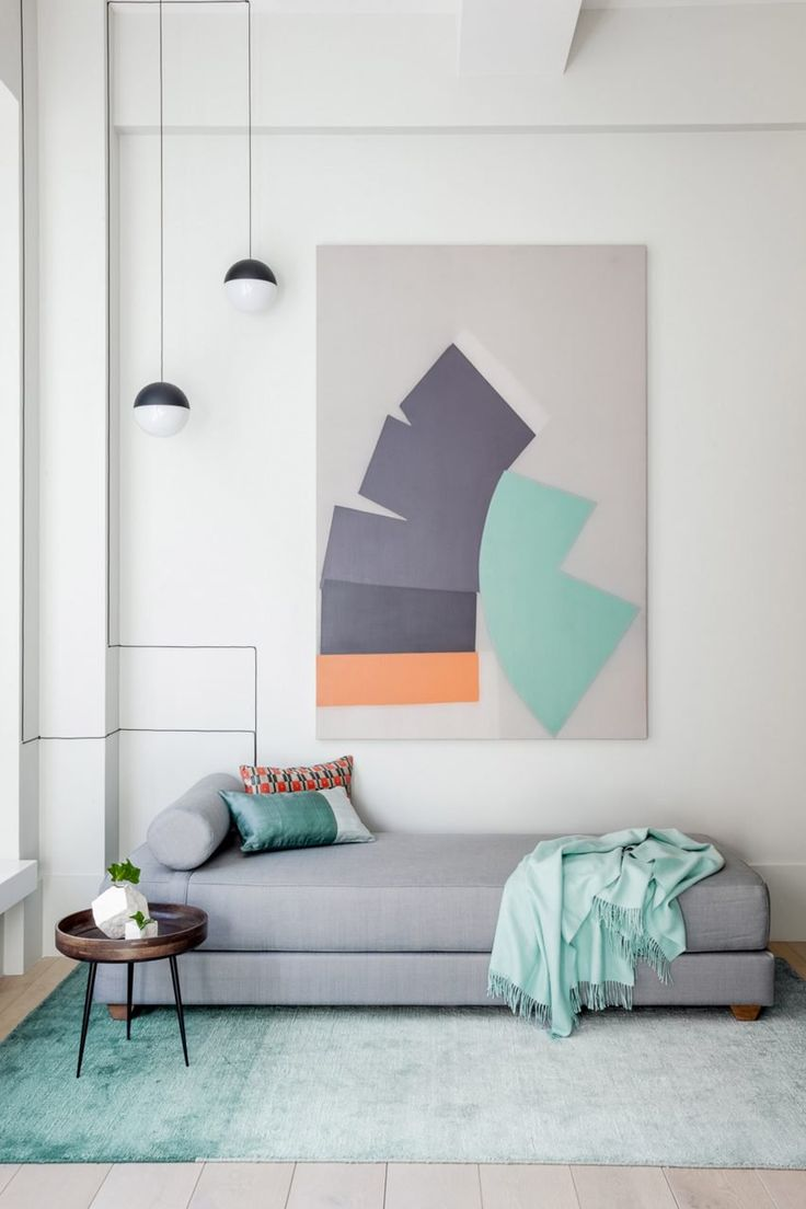 Fresh & Serene on Park Avenue South by The New Design Project mixes styles and colours in renovated Manhattan apartment