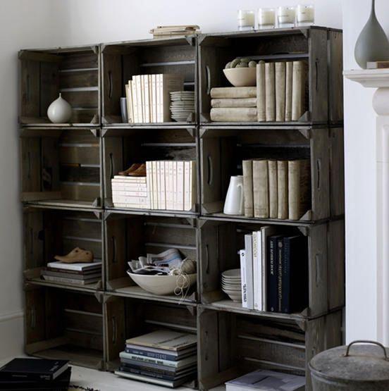 шкаф из деревянных ящиков - Поиск в Google