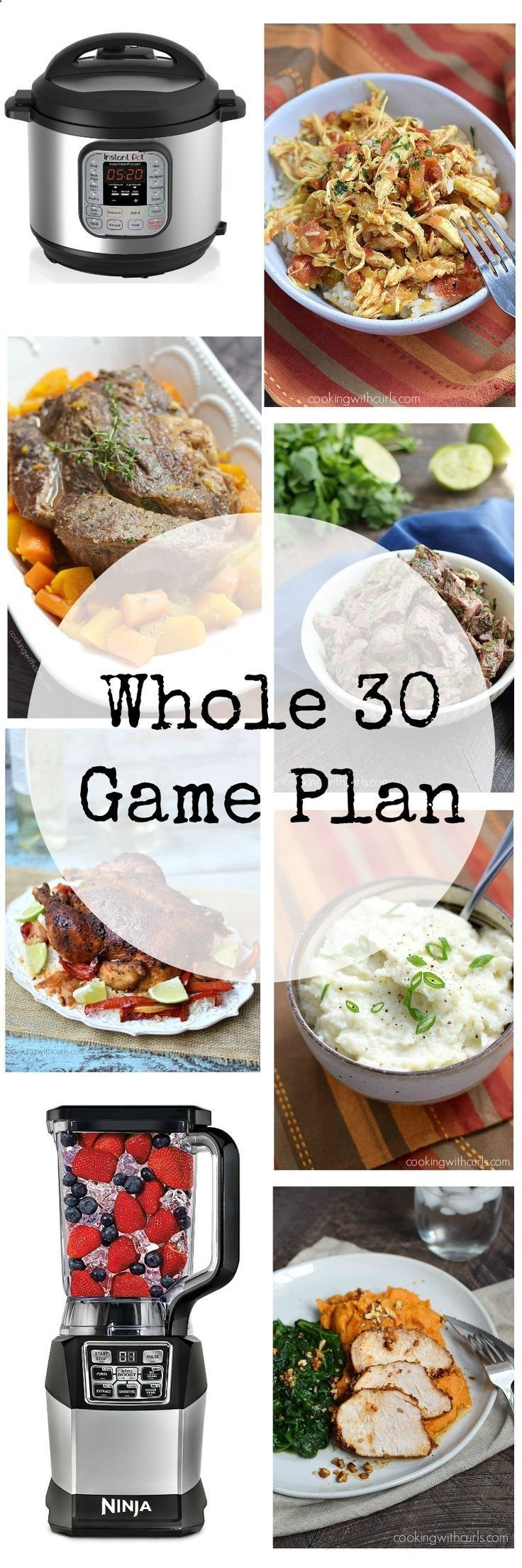 I am starting the New Year with a new outlook and a Whole 30 Game Plan to get my life and health back on track | cookingwithcurls.com (Paleo For Beginners Track)