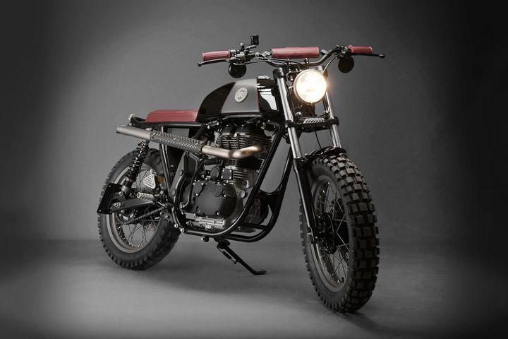 Royal Enfield Scrambler by Analog Motorcycles