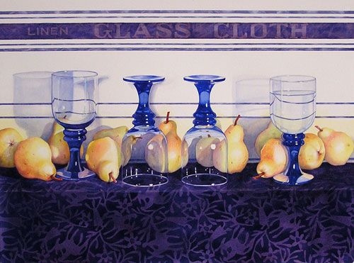 Janice Sayles - Bartletts and Blue