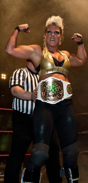 Marie Kristin Gabert #alphafemale #wrestling #girlpower