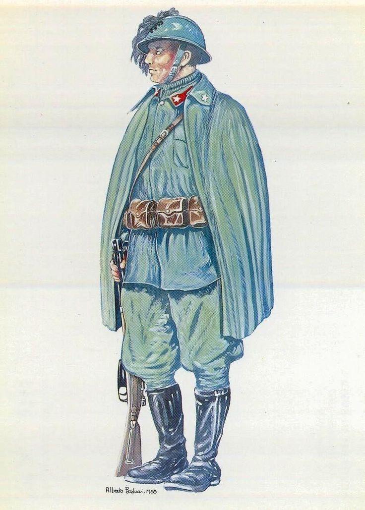 Regio Esercito - BERSAGLIERE CICLISTA (1915-1918)