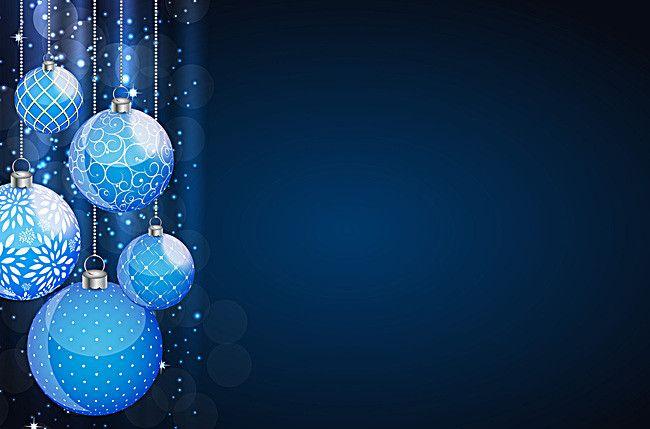 Blue Christmas Ball Background Material Blue Christmas Blue Christmas Background Silver Christmas Wallpaper