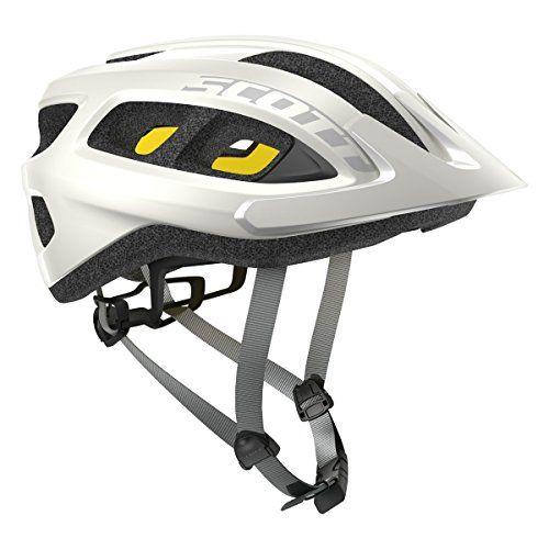Scott Supra Plus Helmet White One Size Mountain Bike Helmets