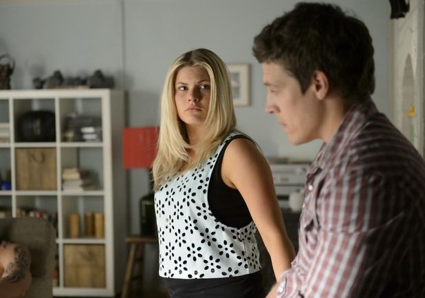 Ricky watches as Brax confesses.