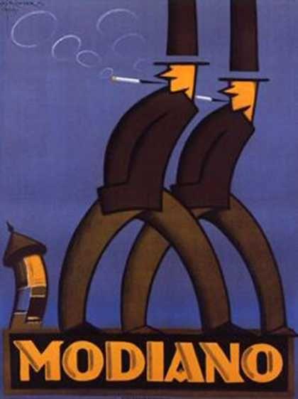 A Modiano Advertaising – Aladar Richter (1928)
