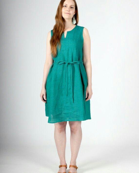 Hay Linen Dress by Nouki